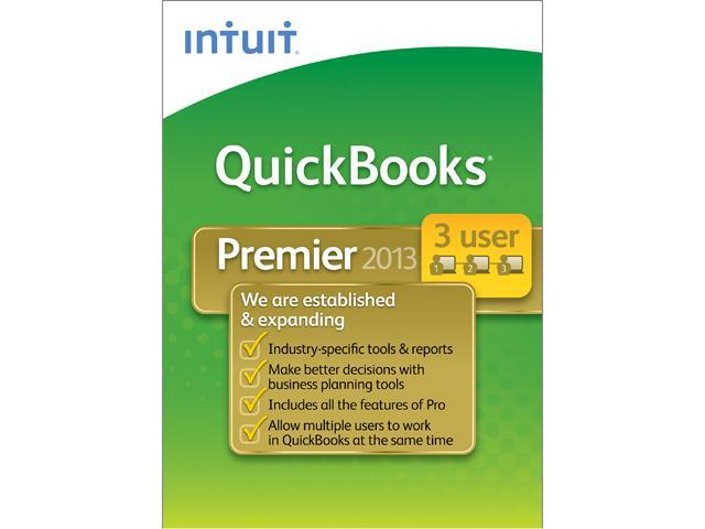 Intuit QuickBooks Premier Industry Editions 2013 3 User - Download