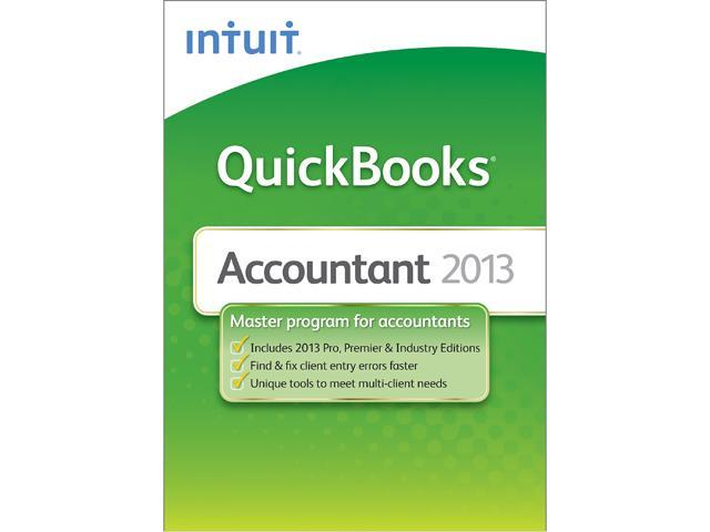 Intuit Quickbooks Accountant 2013 - Download
