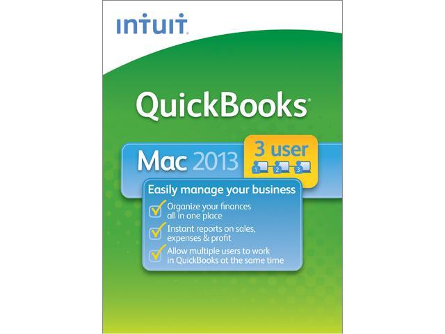 Intuit QuickBooks 2013 for Mac 3 User - Download