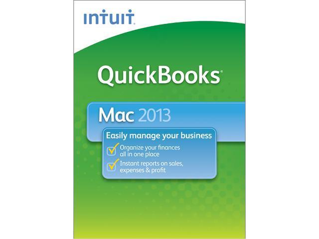 Intuit QuickBooks 2013 for Mac - Download
