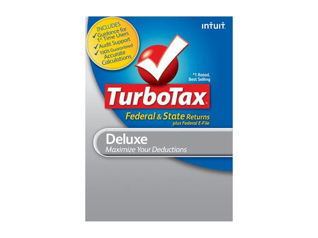 Intuit TurboTax Deluxe Federal & State 2012 for Windows - Download