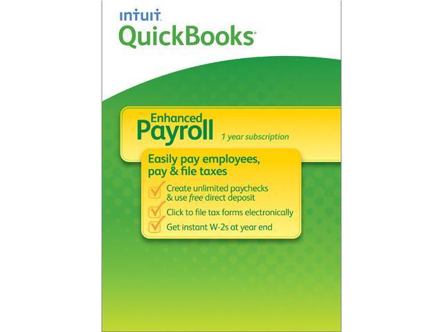 Intuit Quickbooks Payroll Enhanced 2014