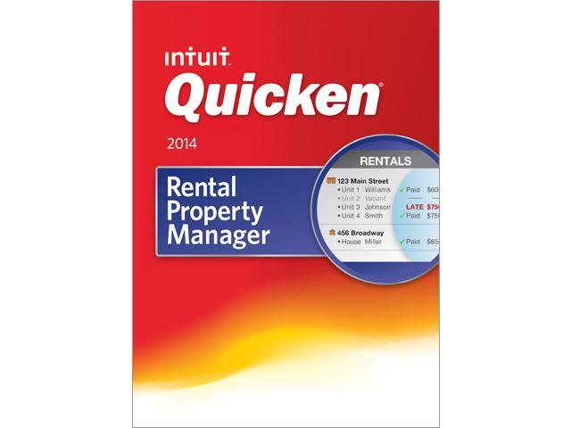 Intuit Quicken Rental Property Manager 2014