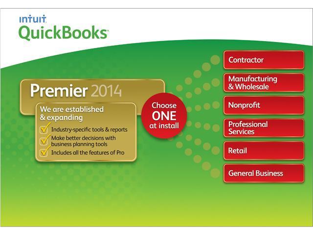 Intuit Quickbooks Premier 2014 - Download