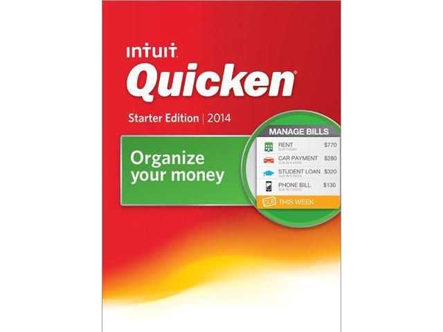 Intuit Quicken Starter Edition 2014 - Download