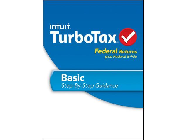 Intuit TurboTax Basic 2013 For Windows - Download