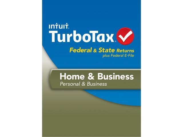 Intuit TurboTax Home & Business 2013 For Windows - Download