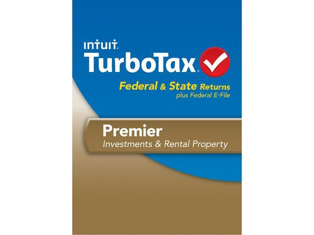 Intuit TurboTax Premier 2013 For Windows - Download