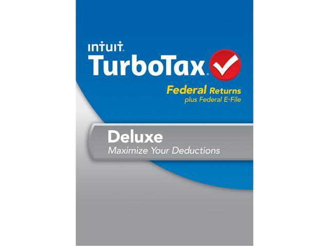 Intuit TurboTax Deluxe Federal 2013