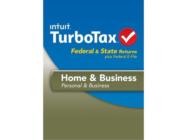 Intuit TurboTax Home & Business 2013