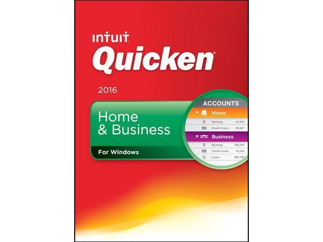 Intuit Quicken Home & Business 2016 - Download