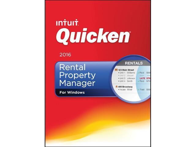 Intuit Quicken Rental Property Manager 2016 - Download