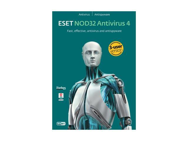 ESET Nod32 Antivirus 4.0 - 3 PCs