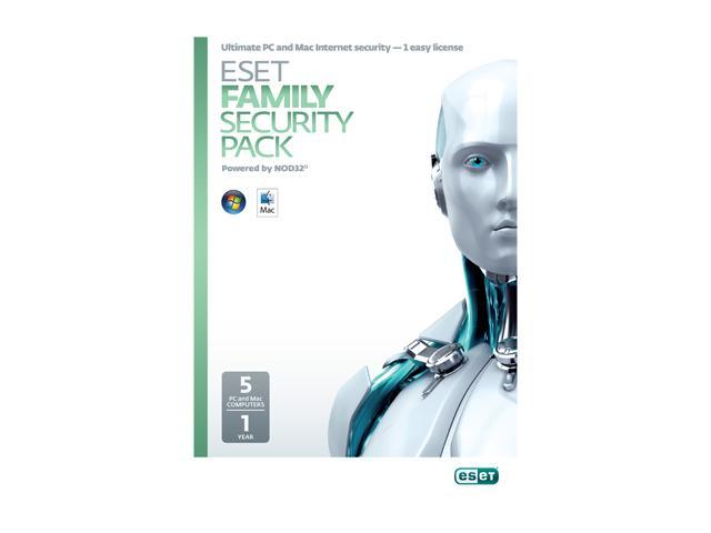 ESET Family Security Pack - 5 User (French/English)