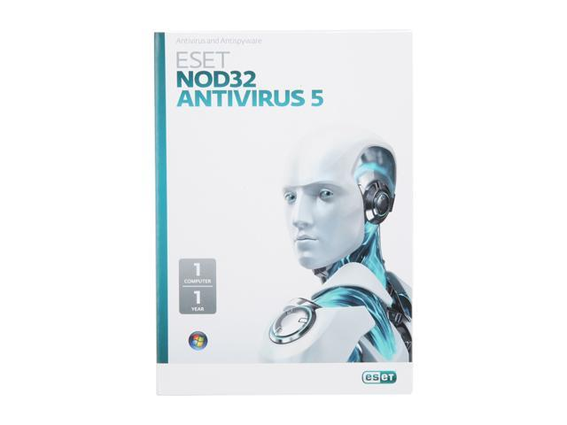 ESET NOD32 Antivirus 5 - 1 PC
