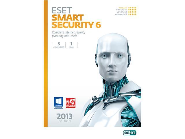 ESET Smart Security 6 - 3 PCs