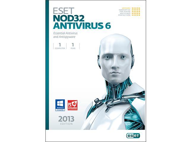 ESET Nod32 Antivirus 6 - 1 PC - Download