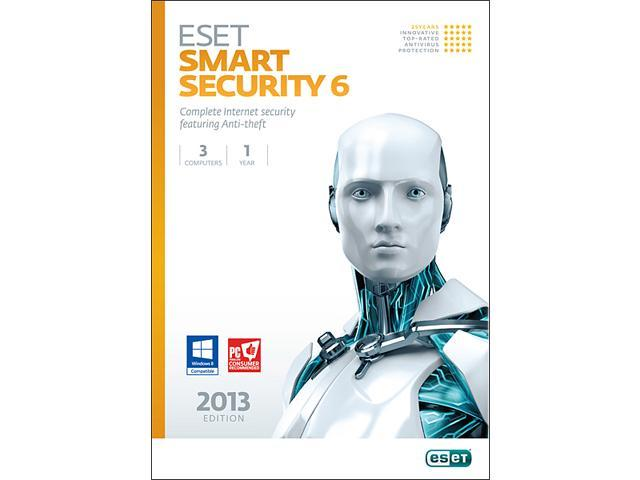 ESET Smart Security 6 - 3 PCs - Download