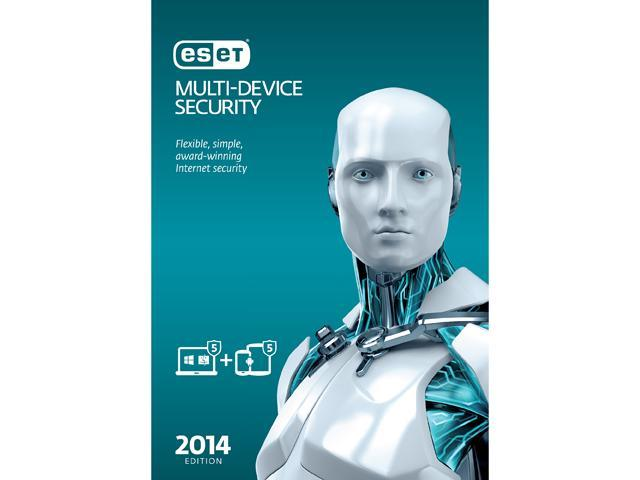 ESET Multi-Device Security - 5 PCs + 5 Android Devices