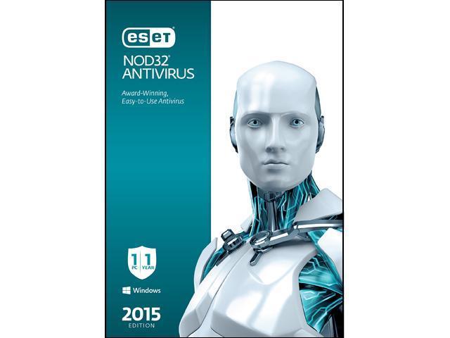 ESET NOD32 Antivirus 2015 - 1 PC
