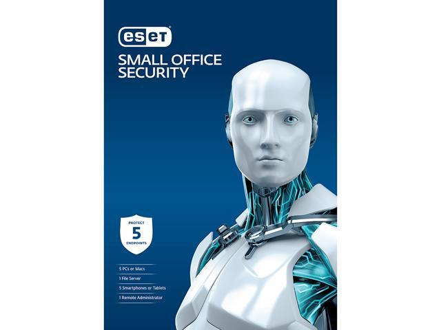 Eset Small Office Security - 5 PC/Mac + 5 Androids + 1 File Server