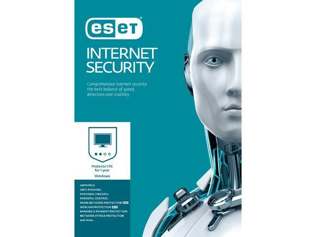 ESET Internet Security 2017 - 1 PC / 1 Year - Download