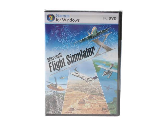 Flight Simulator X PC Game Microsoft