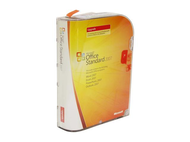 Microsoft Office Standard 2007 Version Upgrade