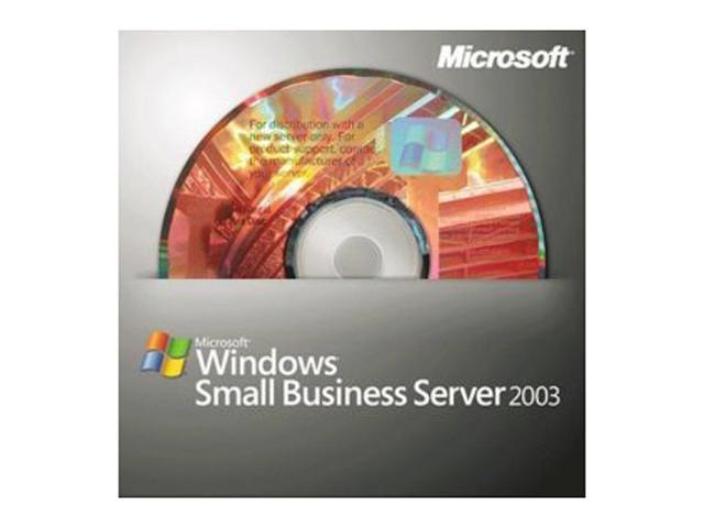 Microsoft Windows Small Business Server 2003 R2 Standard 1-2CPU w/WIN-Server SP2 Kit 5 CAL