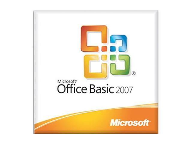 Microsoft Office Basic 2007 with MS Office Professional 2007 (Trial)-License