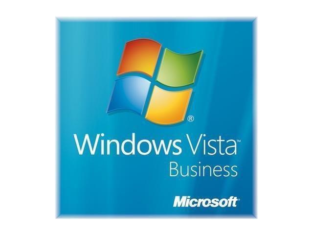 Microsoft Windows Vista Business SP1 64-bit for System Builders w/ Tech Guarantee - OEM