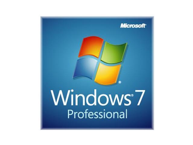 Microsoft Windows 7 Professional 64-bit 3-Pack for System Builders - OEM