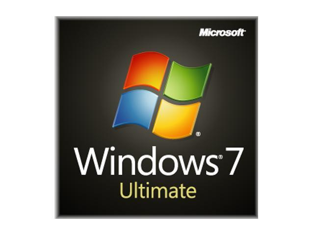 Microsoft Windows 7 Ultimate 32-bit 1-Pack for System Builders