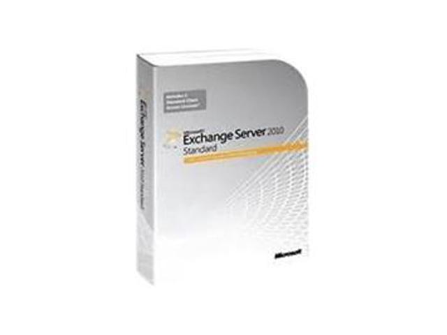 Microsoft Exchange Standard CAL 2010 English User CAL - 5 User