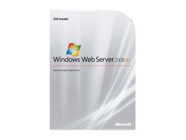 Microsoft Windows Web Server 2008 R2 - 64-bit - Complete Product