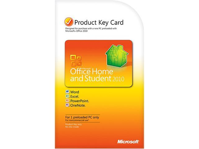 microsoft office 2010 student product key