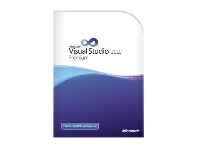 Microsoft Visual Studio 2010 Premium w/MSDN