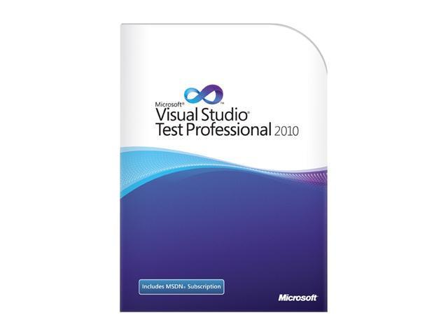 Microsoft Visual Studio Test Professional with MSDN 2010 English Programs Not to Latam Renwl