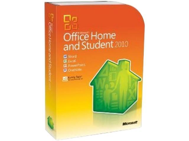 Microsoft Office 2010 Home & Student 3-User