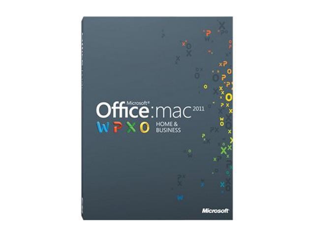 Microsoft Office for Mac Home and Business 2011 - 1 User / 2 Macs