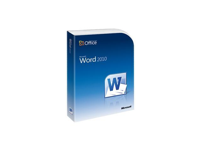 Microsoft Word 2010 - 1 PC