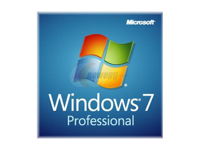 Microsoft Windows 7 Professional SP1 64-bit 3-Pack - OEM