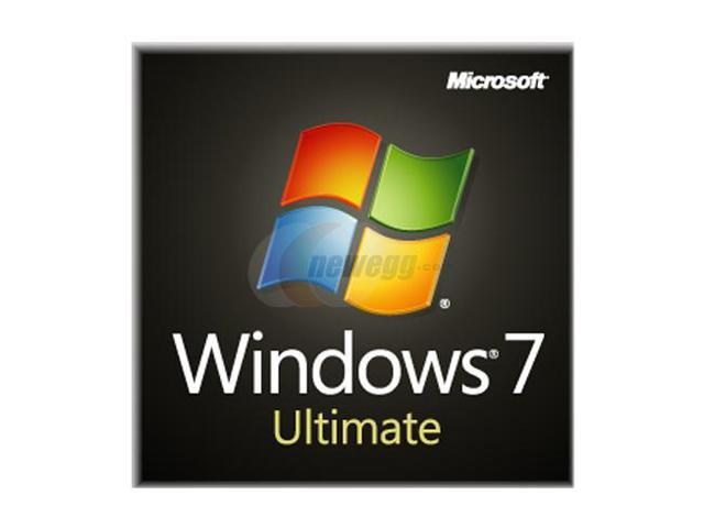 Microsoft Windows 7 Ultimate SP1 64-bit 3-Pack - OEM