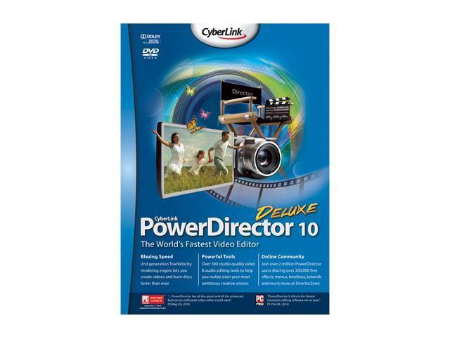 CyberLink PowerDirector 10 Deluxe