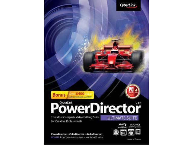 CyberLink PowerDirector 12 Ultimate Suite - Download
