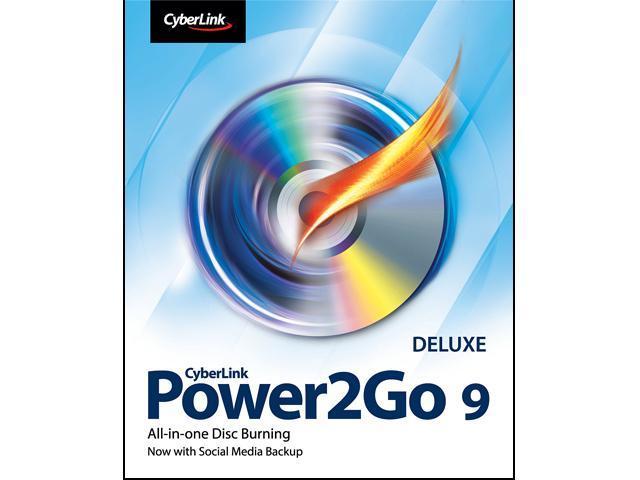 CyberLink Power2Go 9 Deluxe
