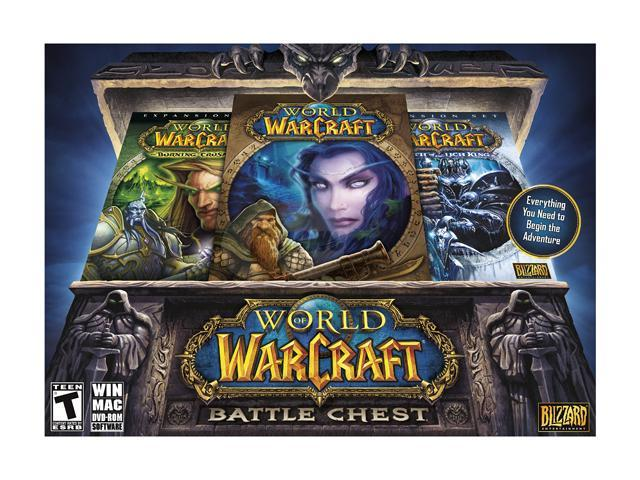 World of Warcraft: Battle Chest w/ Lich King PC Game