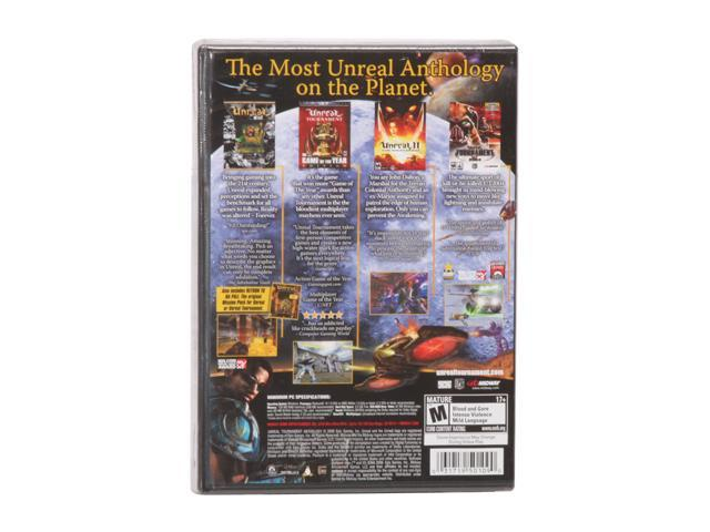 Unreal Anthology PC Game MIDWAY