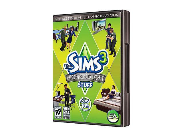 Sims 3: High-End Loft Stuff PC Game