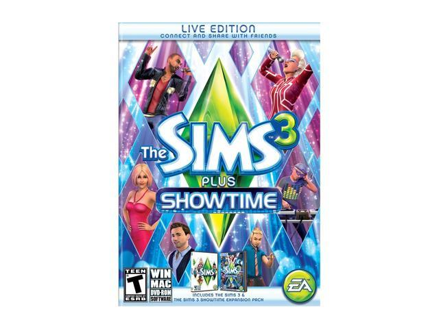 The Sims 3 Plus Showtime PC Game